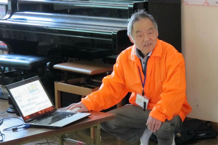 同ネットワーク会長の清水勇さん